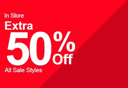 Extra 50% Off Sale from Call It Spring