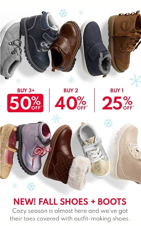 Buy More, Save More Shoes