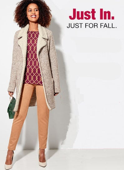 New Fall Arrivals from Burlington