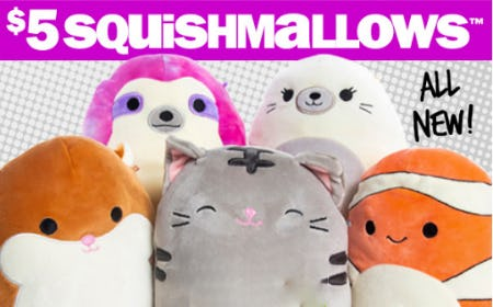 $5 Squishmallows from Five Below