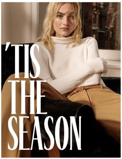 Holiday Dress Code from Aritzia