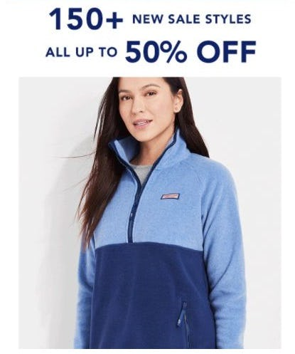 Up to 50% Off Sale from Vineyard Vines