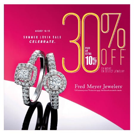 Summer Lovin from Fred Meyer Jewelers