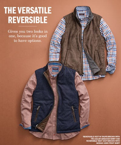 The Versatile Reversible from Johnston & Murphy