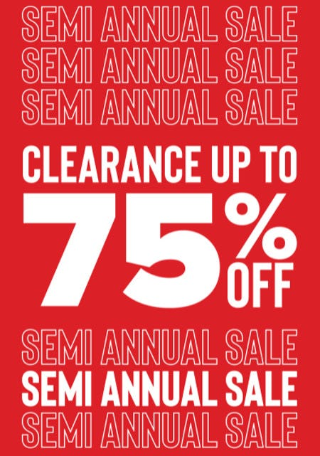 Clearance up to 75% Off from Francesca's