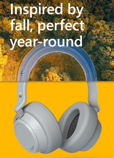 The Surface Headphones from Microsoft