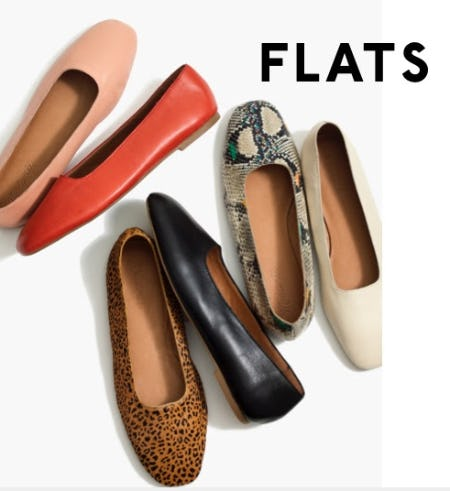 The Modern Cory Flats from Madewell