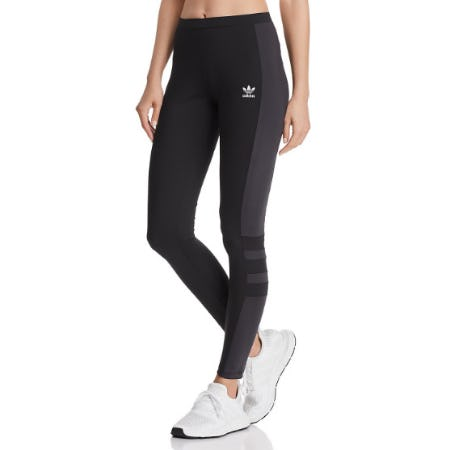 Adidas Color-Block Leggings from Bloomingdale's