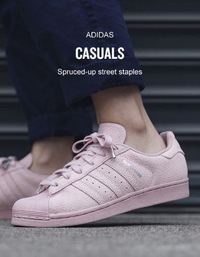 Adidas Casuals Have Come A Long Way from Finish Line