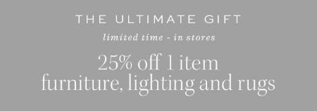 25% Off The Ultimate Gift from Pottery Barn