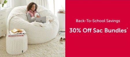 30% Off Sac Bundles from Lovesac