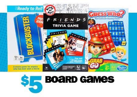 $5 Board Games