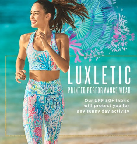 Luxletic Printed Performance Wear from Lilly Pulitzer