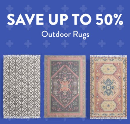 Save Up to 50% on Outdoor Rugs from Cost Plus World Market