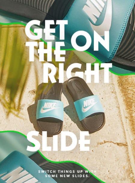 Slip Into New Summer Slides from Shiekh