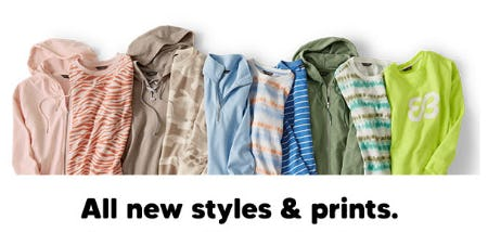All New Styles & Prints from Eddie Bauer