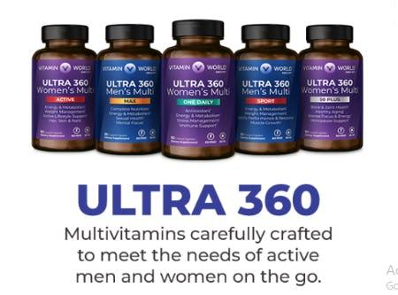 New ULTRA 360 from Vitamin World