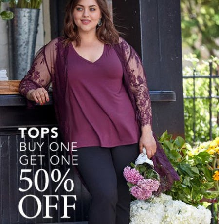 Tops Buy One, Get One 50% Off