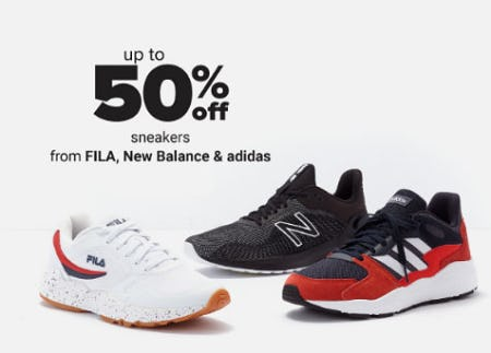 Up to 50% Off Sneakers from Belk