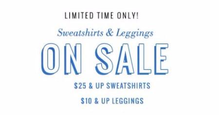 Sweatshirts & Leggings On Sale