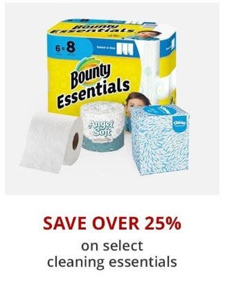Over 25% Off Select Cleaning Essentials