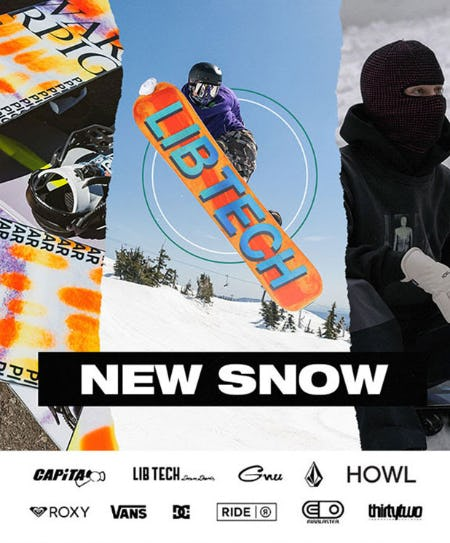 New Snowboard Arrivals are Here