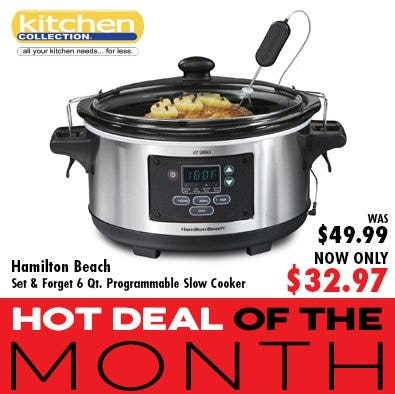 Hot Deal of the Month from Kitchen Collection