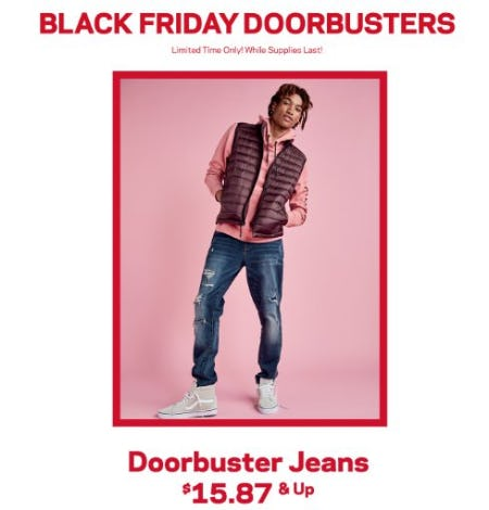 Black Friday Doorbusters from Aéropostale