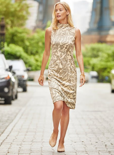 The Animal Print Dress from J. Mclaughlin