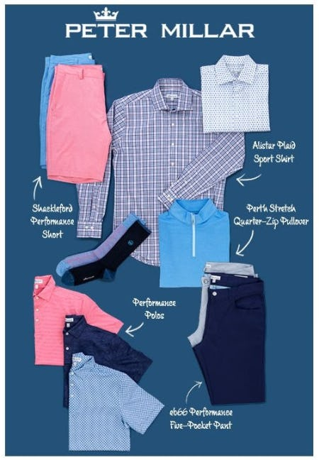 Peter Millar: Classic, Comfortable Style from Von Maur