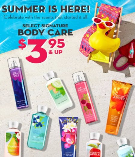 Select Signature Body Care $3.95 & Up