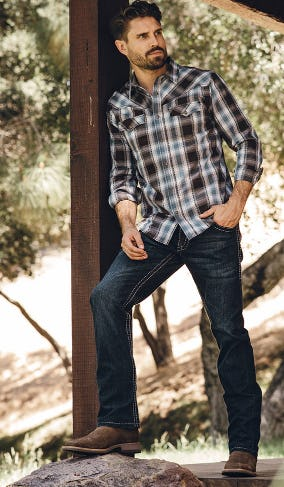 New Relaxed Fit Jeans & Plaid Shirts from Boot Barn Western And Work Wear
