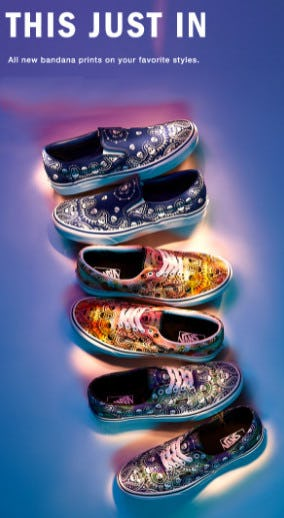New Paisley Prints from Vans