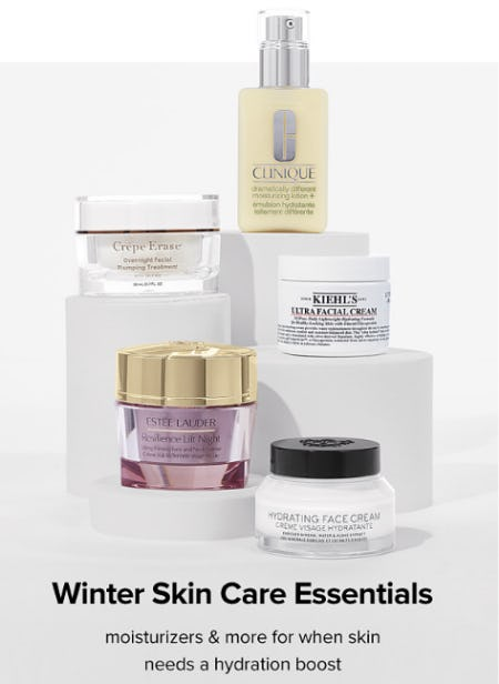 Winter Skin Care Essentials from Belk