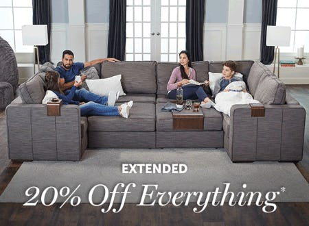 20% Off Everything from Lovesac Designed For Life Furniture Co