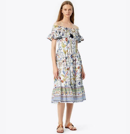 Meadow Folly Dress from Tory Burch