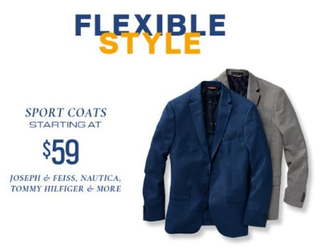 Sport Coats Starting at $59 from Men's Wearhouse