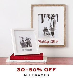 30-50% Off All Frames from Pottery Barn