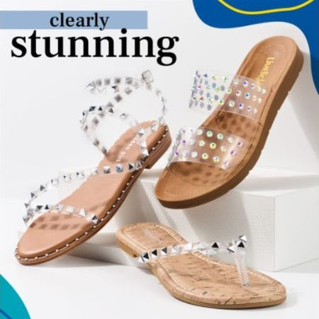 Lucite Sandals: A Clear Winner this Season from Rack Room Shoes