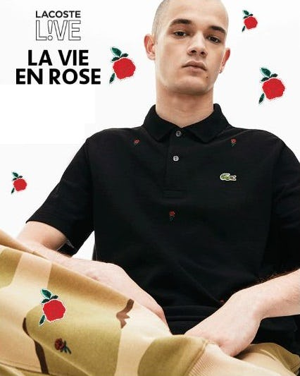 New from the L!VE Collection  from Lacoste