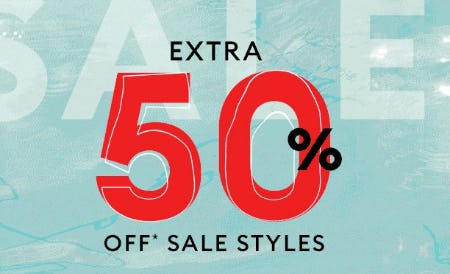 Extra 50% Off Sale Styles from Banana Republic