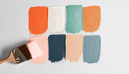 Sherwin-Williams' New Spring Palette from West Elm