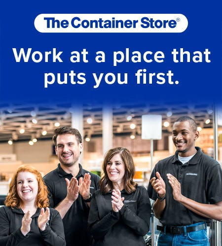 The Container Store Is Now Hiring
