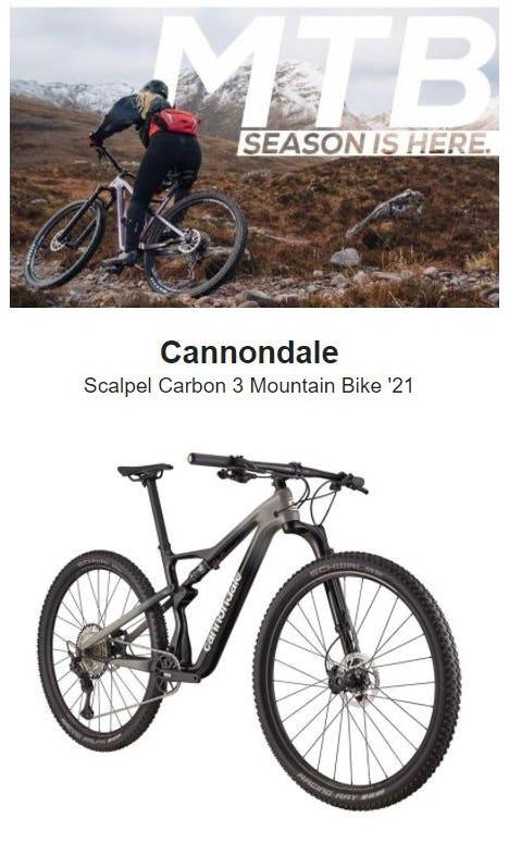 Mountain Bike Season Is Here