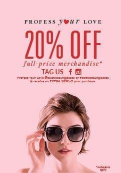 Solstice Sunglasses Valentines Day Sale