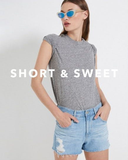 Short of It from Ag Jeans