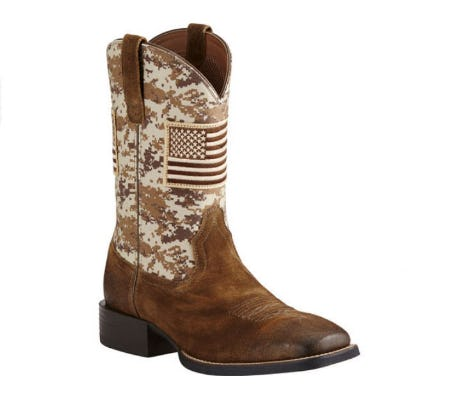 Ariat Men's Camo Patriot Western Boots from Boot Barn Western And Work Wear
