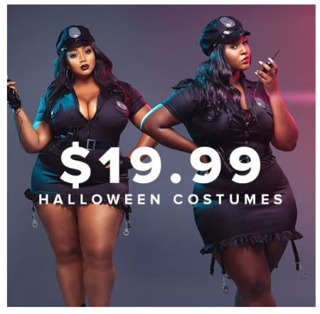 $19.99 Halloween Costumes from Fashion To Figure
