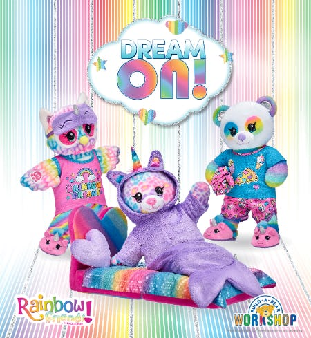 Dream On with NEW Rainbow Friends at Build-A-Bear Workshop!® from Build-A-Bear Workshop