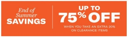 End of Summer Savings up to 75% Off from Allen Edmonds